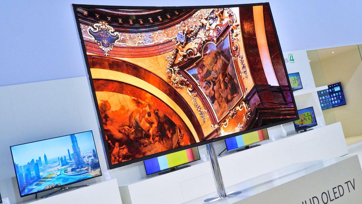 Curved TV von Samsung